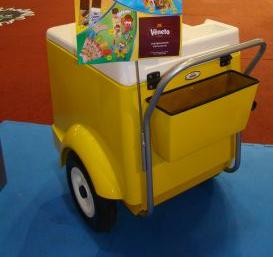 334PC Ice Cream Cart