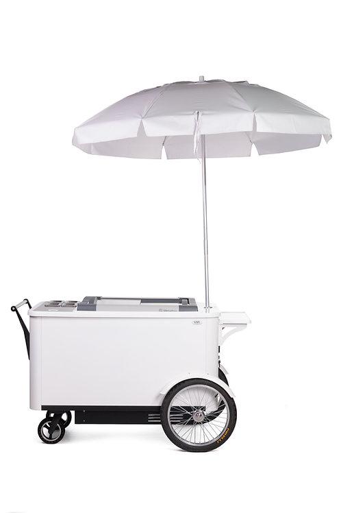 507PC Compact Freezer Gourmet Cart