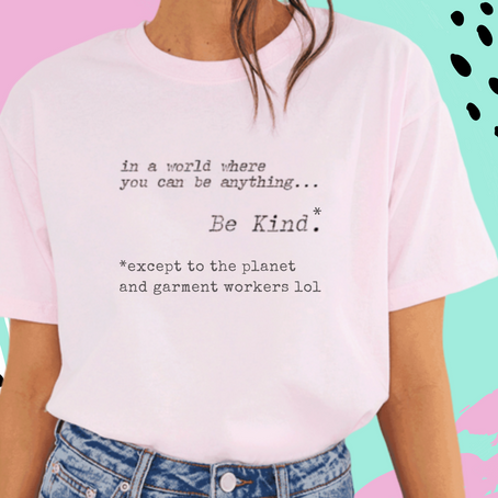 What statement are slogan tees really making?