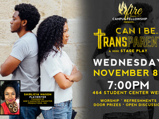 Come See a Preview of TRANSPARENT!