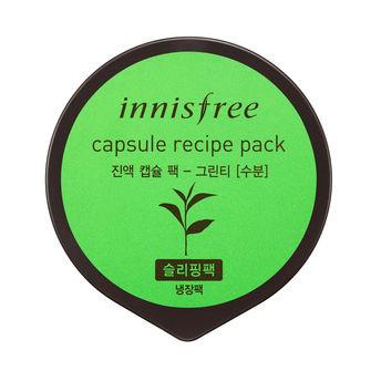 innisfree capsule recipe pack sleeping pack in Green Tea