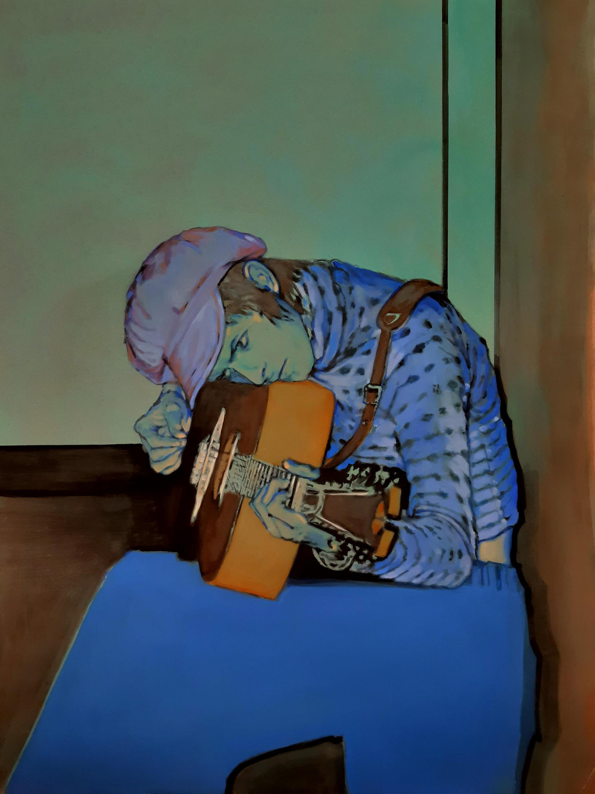 THE BLUE GUITARIST