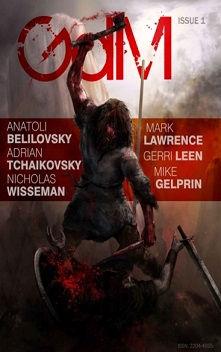 Cover of Grim Dark Magazine #1