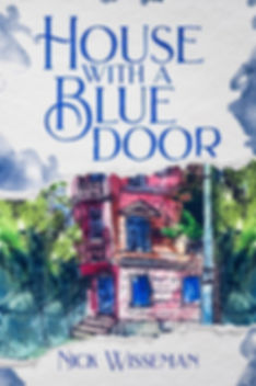 Cover of House with a Blue Door