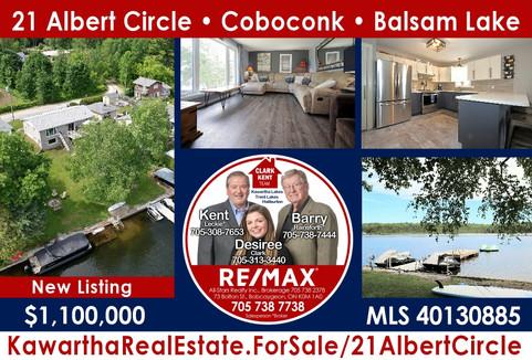 21 Albert Circle Coboconk Balsam Lake