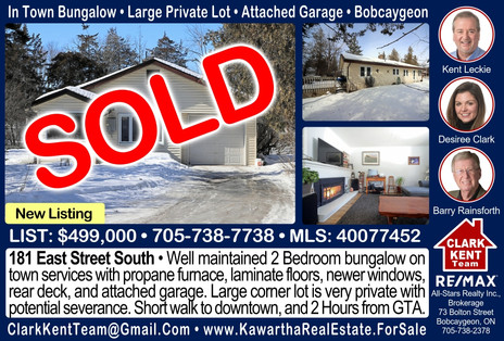 181 East Street South Bobcaygeon