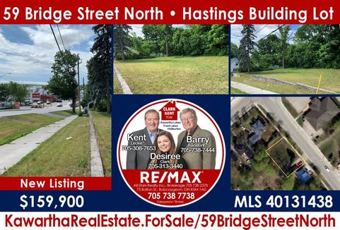 59 Bridge Street North Hastings Building Lot