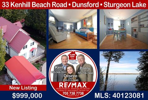 33 Kenhill Beach Road Dunsford Sturgeon Lake