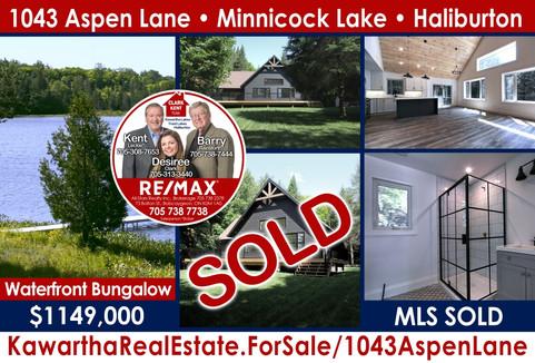 1043 Aspen Lane Minnicock Lake Haliburton