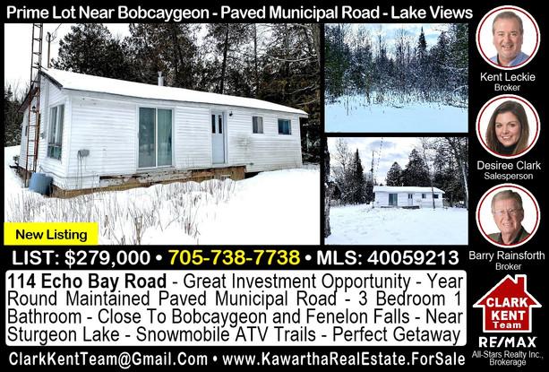 114 Echo Bay Road Bobcaygeon