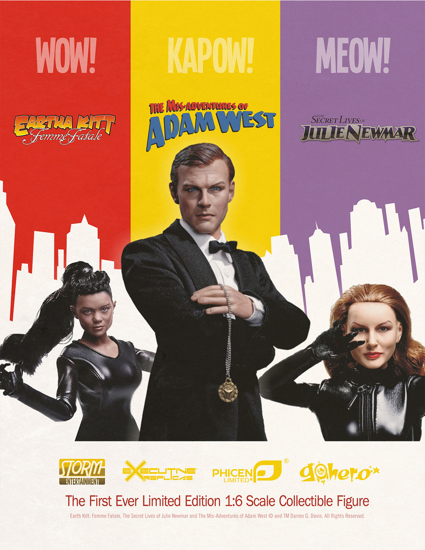 Adam West, Eatha Kitt, Julie Newmar Product Design