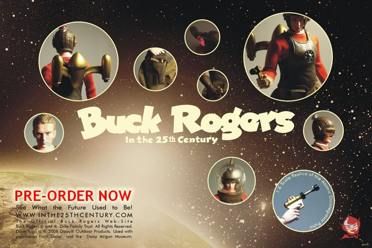 Buck Rogers Product Design
