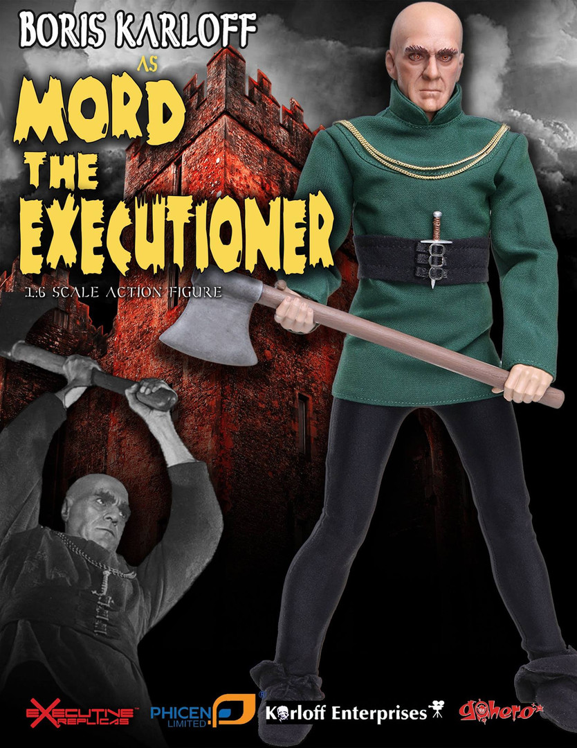 Boris Karloff as Mord Product Design