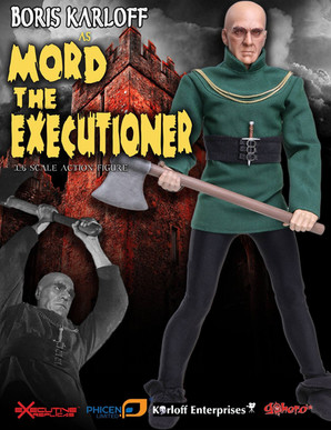Boris Karloff as Mord Product Design