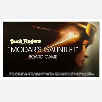 Buck Rogers Board Game