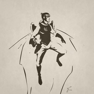 Buck Rogers Illustration