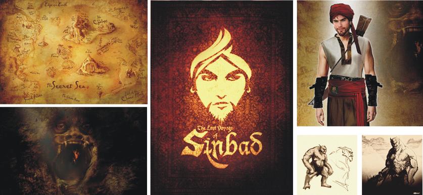 Sinbad Concept Art