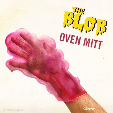 The Blob Oven Mitt
