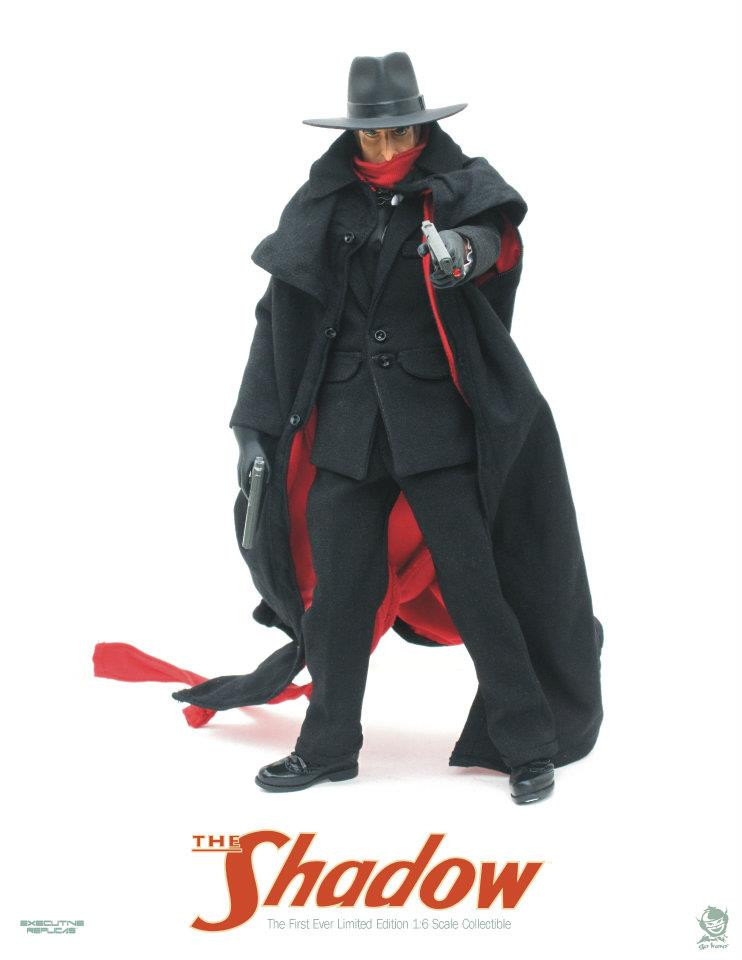 First-Ever 1:6 Scale - The Shadow