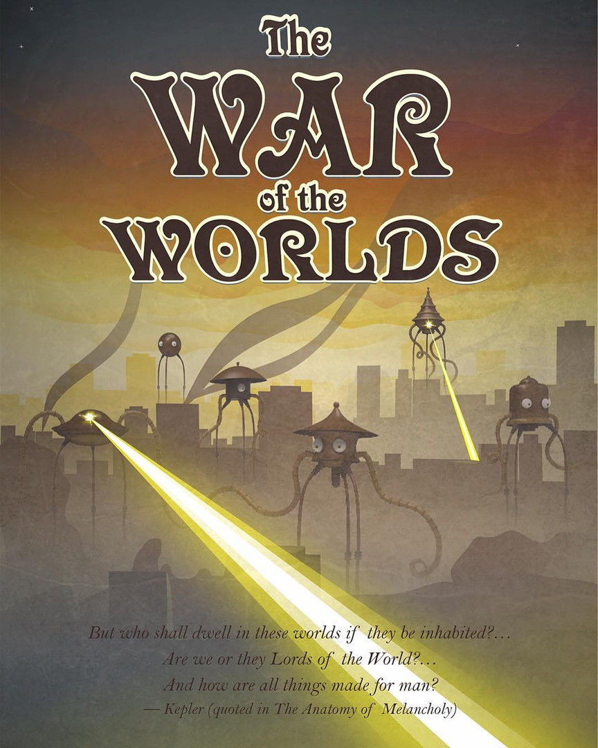 War of the Worlds Product Design