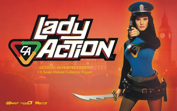Lady Action Product Design