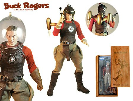 Toy of the Year Winner and First-Ever 1:6 Scale - Classic Buck Rogers