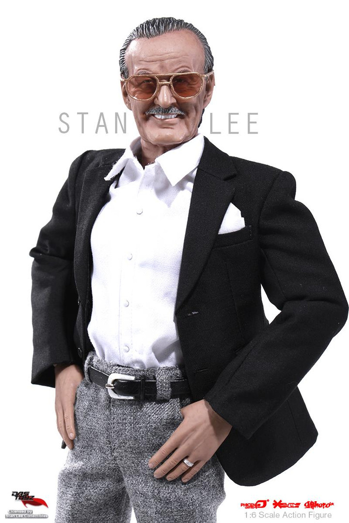 First-Ever 1:6 Scale - Stan Lee