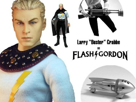 First-Ever 1:6 Scale - Buster Crabbe as Flash Gordon
