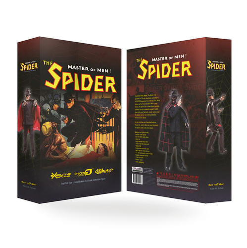 First-Ever 1:6 Scale - The Spider
