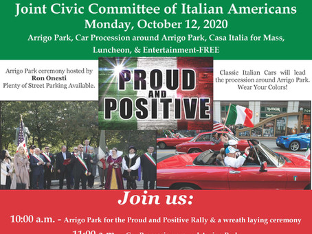 Columbus Day: Italian American Heritage Celebration