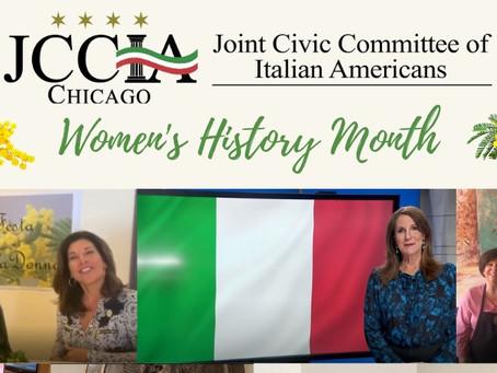 Women's History Month and La Festa della Donna