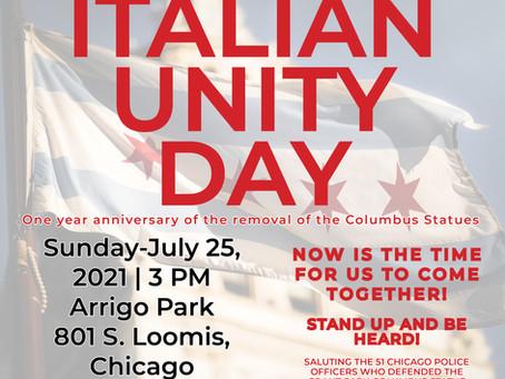Pack the Park-Italian Unity Day
