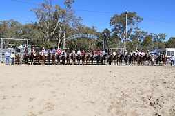 Riders in the Wholesale Horsewear House