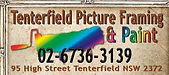 Tenterfield picture framing and paint.jp