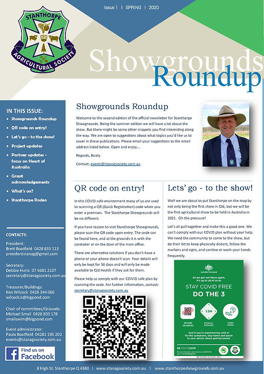 Showgrounds Roundup - 2021 Issue 2 Summe