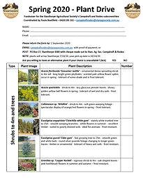 Plant Drive Paula Boatfield Spring 2020