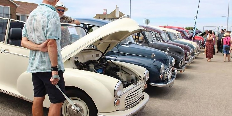 Classic Vehicles on the Seafront 2019