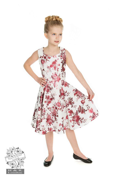 Childrens  Aphrodite Metallic Swing Dress