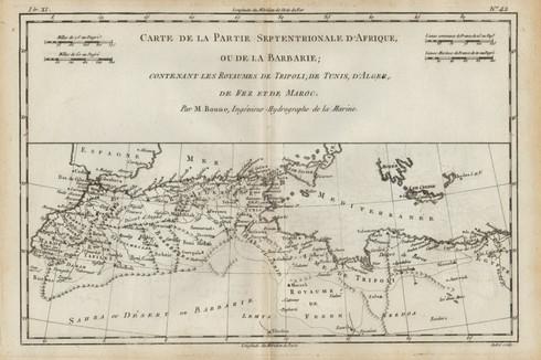 Bonne North Africa 1780.jpg
