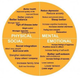Exercise is medicine for the body & the brain