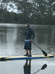 Balance training in action