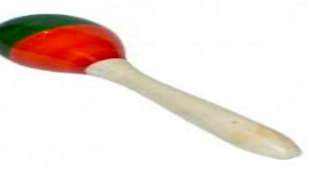 Wooden Baloon Rattler