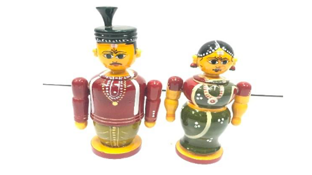 Wooden Married pair (Small)