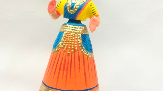 Wooden Dancing doll