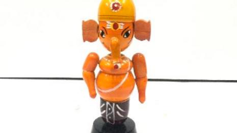 Wooden Ganesha Model 2 (Small)