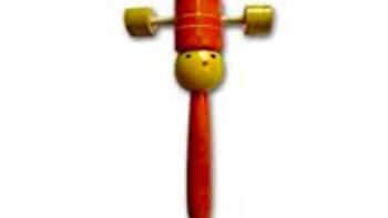 Wooden Cup Rattler