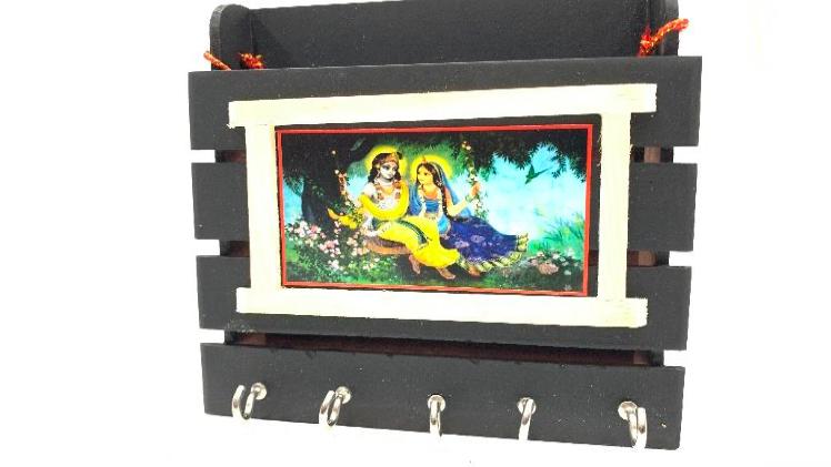 Channapatna Key Hanger - Model 2