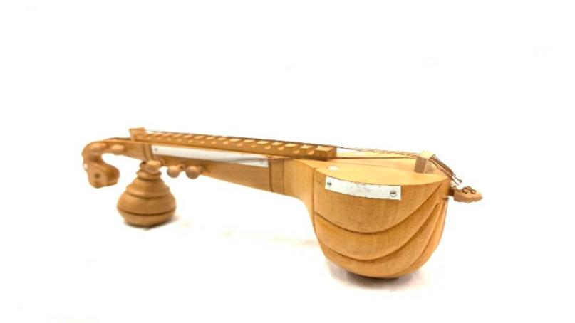 Wooden Natural color Veena (Special)