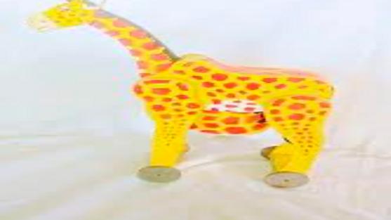 Wooden Giraffe - Model 2
