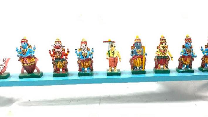 Wooden Dashavathara